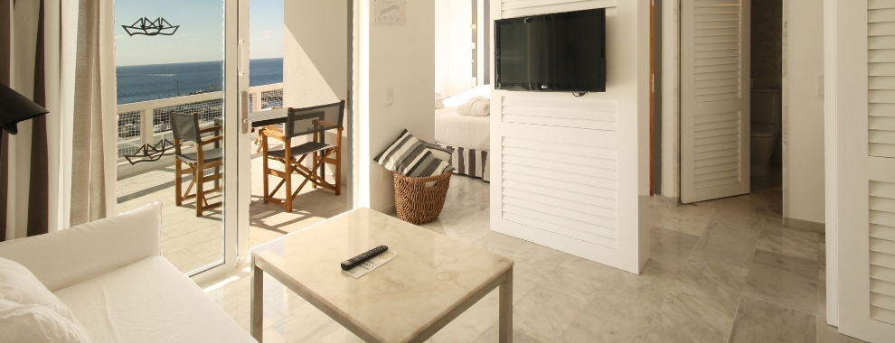 Apartamentos con terraza - Saln
